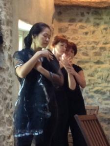 Jing, Bernie and Regina improvising