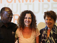 Authors among themselves:  Femi Osofisan, Dea Loher and Kaite O'Reilly
