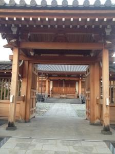 Temple close to Theatre Babylon Tokyo