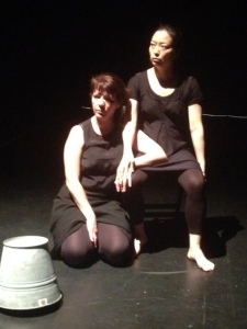 Regina Crowley and Jeungsook Yoo in the tech