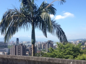 Taipei viewed from the University of the arts