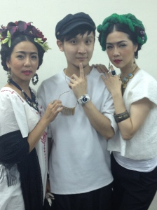 Costume designer YS Lee with Faye Leung and Ying-Hsuan Hsieh, The 9 Fridas