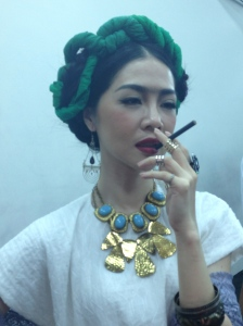 Ying-Hsuan Hsieh at The 9 Fridas photoshoot. Mobius Strip, Taipei.