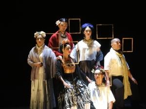 The cast of The 9 Fridas. Photo: Phillip Zarrilli