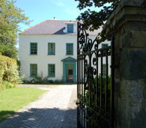 Lloyd George's former home: Ty Newydd - writers' centre of Wales