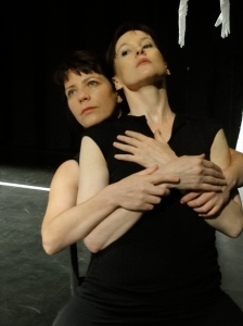 Regina Crowley and Bernadette Cronin of Gaitkrash, 'playing The Maids'