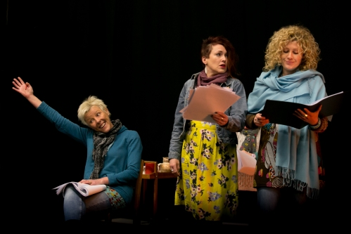 The 'Cosy' sisters: Ri Richards, Ruth Lloyd & Llinos Daniel. Photo: Farrows Creative