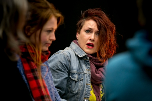 Ruth Lloyd and Bethan Rose Young in 'Cosy'. Image: FarrowsCreative