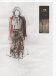'Cosy' costume design by Holly McCarthy