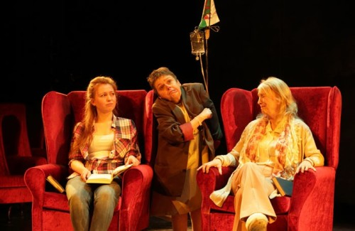 Bethan Rose Young, Sara Beer, Sharon Morgan in Kaite O'Reilly's 'Cosy'. Photo: Farrows Creative